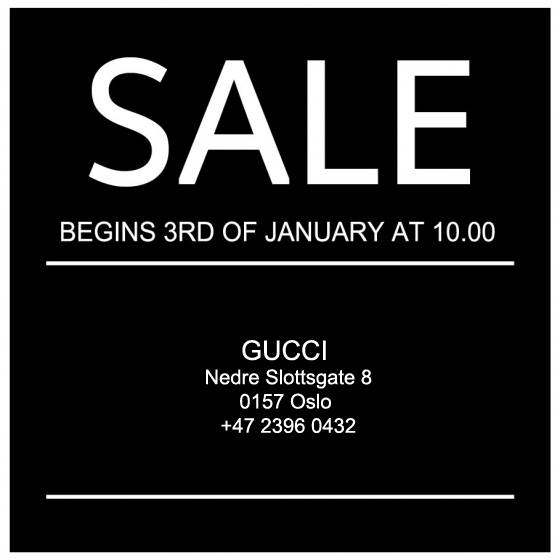 Gucci SALE