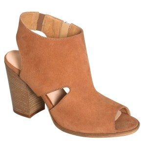 Rizzo High suede sandals cognac