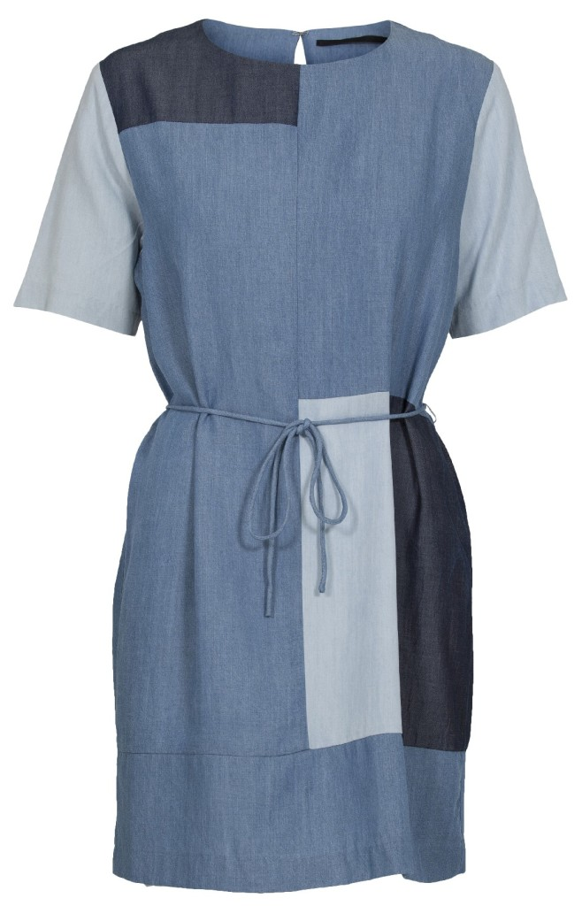 Just Female SS14 Joi Denim Dress Patched Blue DKK 599 NOK 799 SEK 849