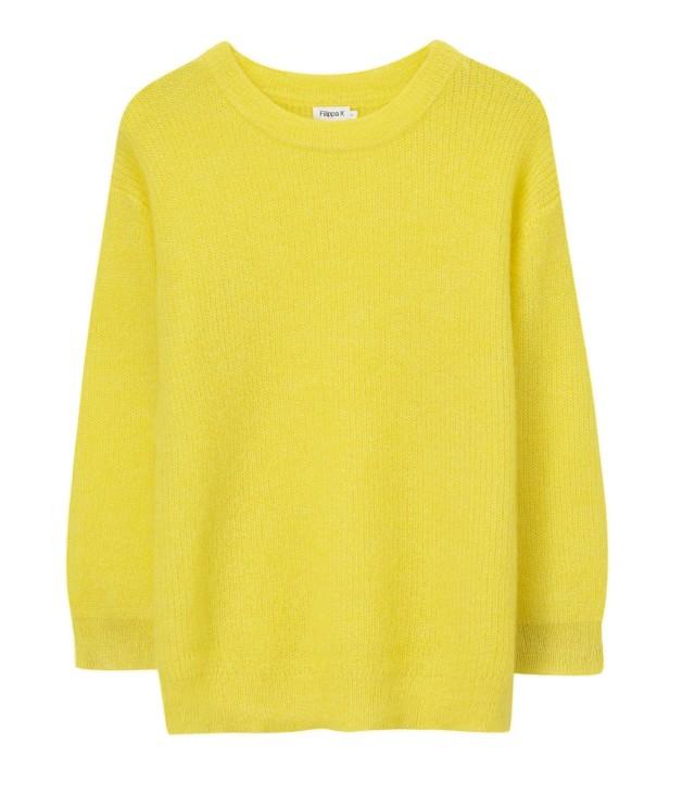 Mohair Rib Pullover Citrus_Sweaters and cardigans_Art no - 1-9-20135_1400 SEK_1400 NOK_1300 DKK_Material - Polyamide_Mohair_Wool_Size -