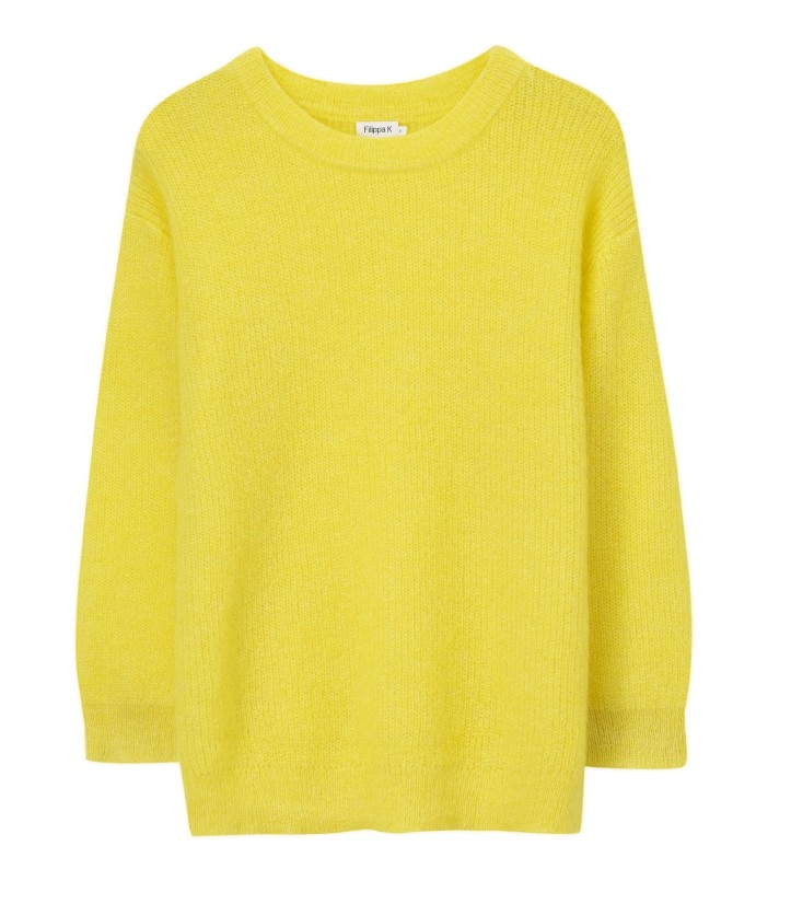 Mohair Rib Pullover Citrus_Sweaters and cardigans_Art no - 1-9-20135_1400 SEK_1400 NOK_1300 DKK_Material - Polyamide_Mohair_Wool_Size -