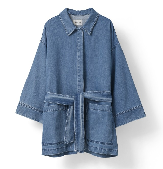 Ganni_Wayne Denim Coat_Jackets_Art no - F1297_1899 SEK_1799 NOK_Material - 100% Cotton_Size - XS-XL